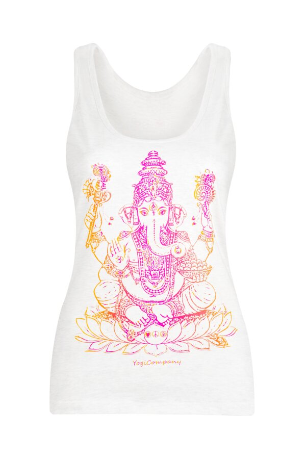 Top GANESHA creme/berry-orange